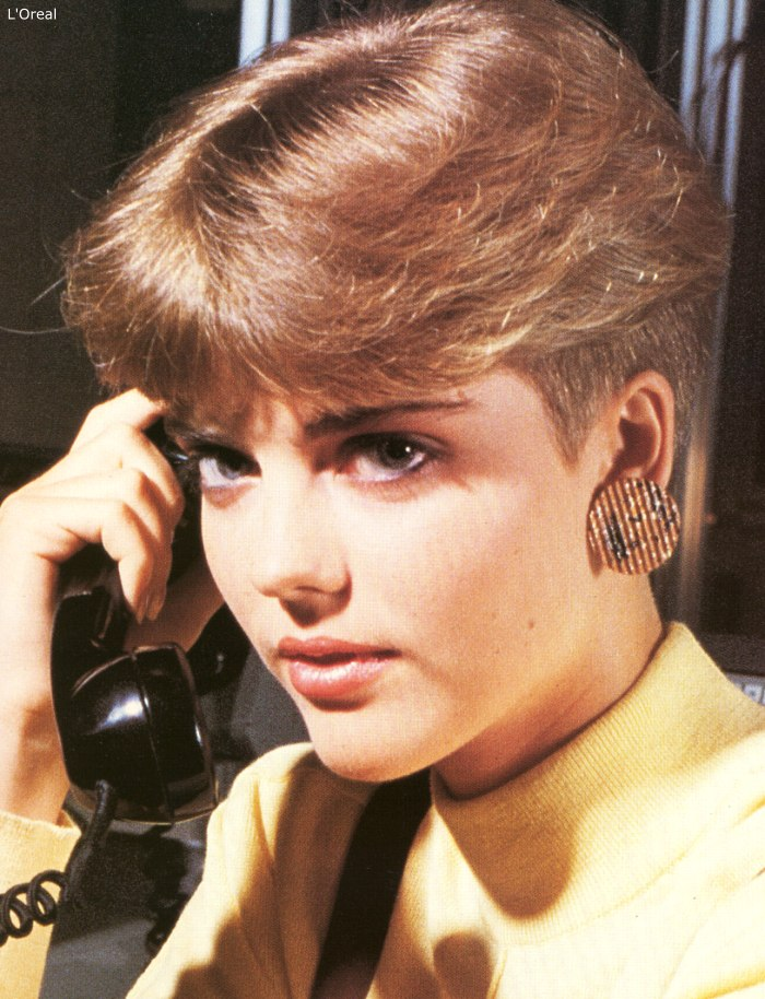 Pleasant 1980S Short Nape Haircut Inspired By The Pageboy Hairstyles For Women Draintrainus