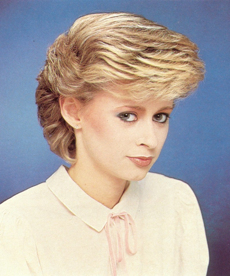 80s Hairstyles Men Eighties hairstyle with longer