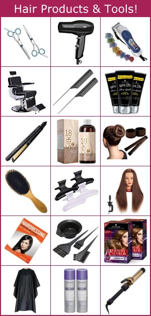 Hair tools and products