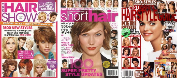Hair Magazines And Publications With Hairstyles For Hair