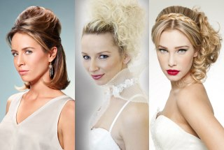Updos and formal hairstyles