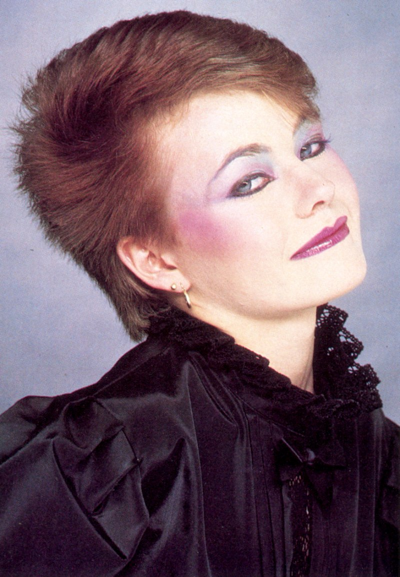 Super Extremely Short Eighties New Wave Hairstyle Hairstyles For Women Draintrainus