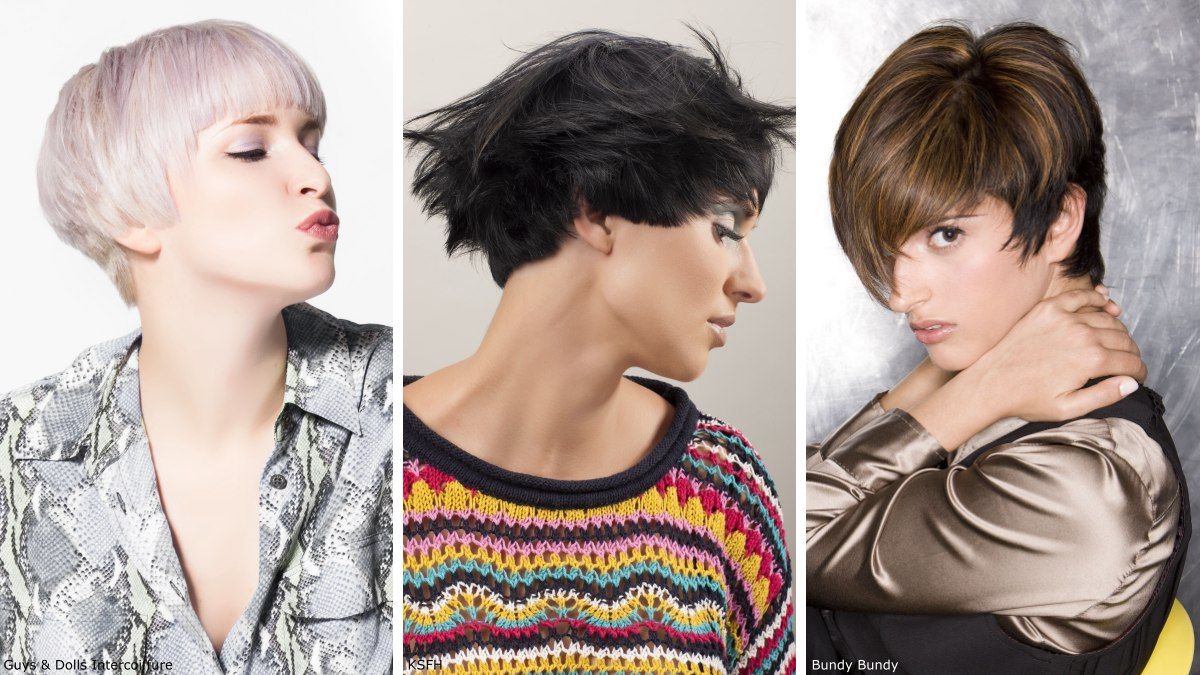 Short Hairstyles For Women 2019 Photos Of Trendy Short Haircuts