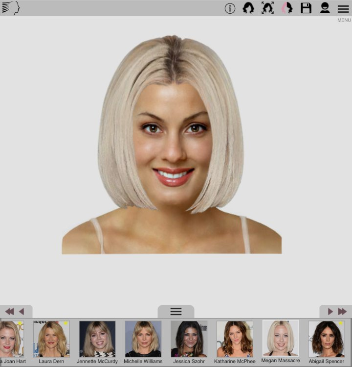 Free Smartphone App To Try On Hairstyles And Hair Colors