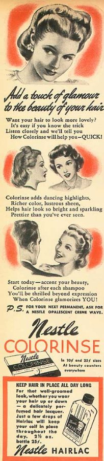 Hair Color And Haircolor Products In The 1920s