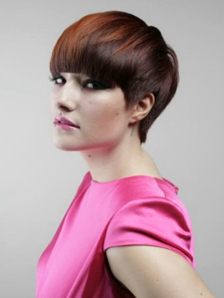 sexy short hairstyle. Toni & Guy, Stafford has reached new heights of
