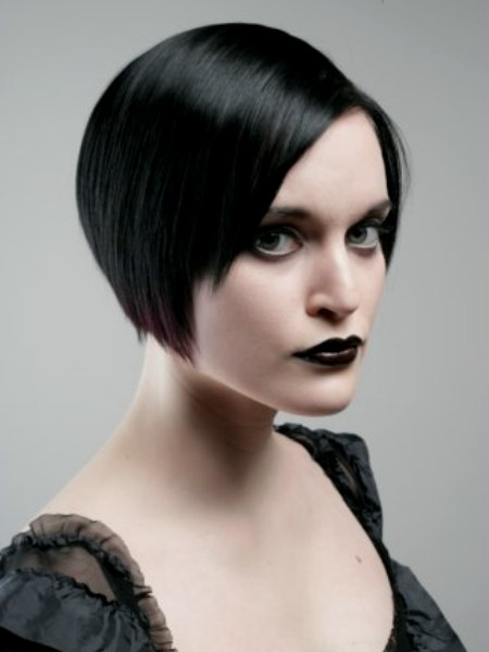 Short gothic hairstyles pictures