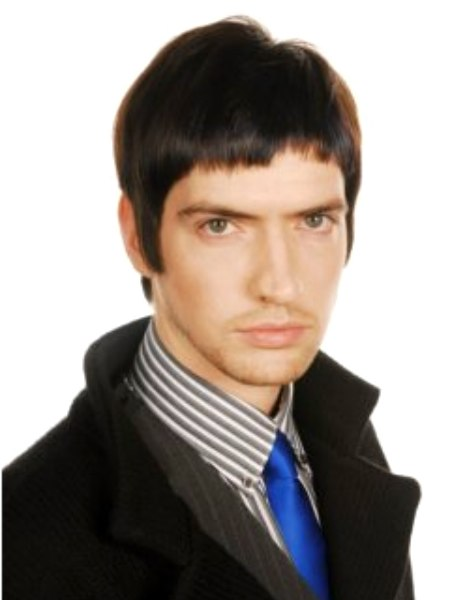 Sixties Mod Look With A Pete Doherty Rock Star Chic Hairstyle