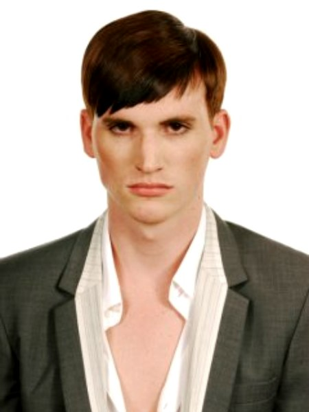 Old Fashioned Sleek Mens Hairstyle