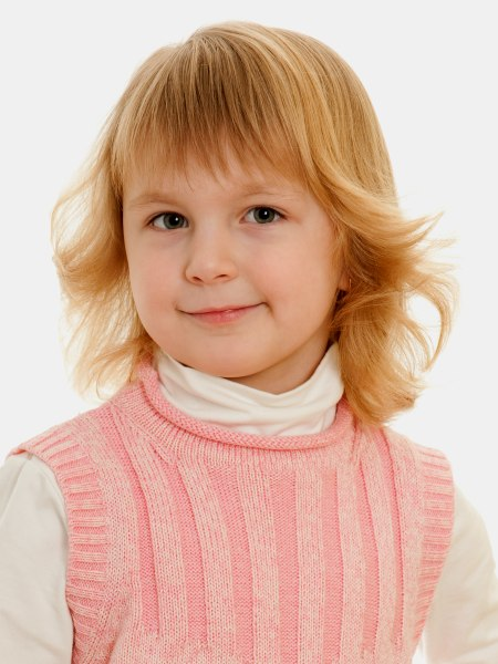 Kid S Hairstyle With Curls A Parent Friendly Hairstyle