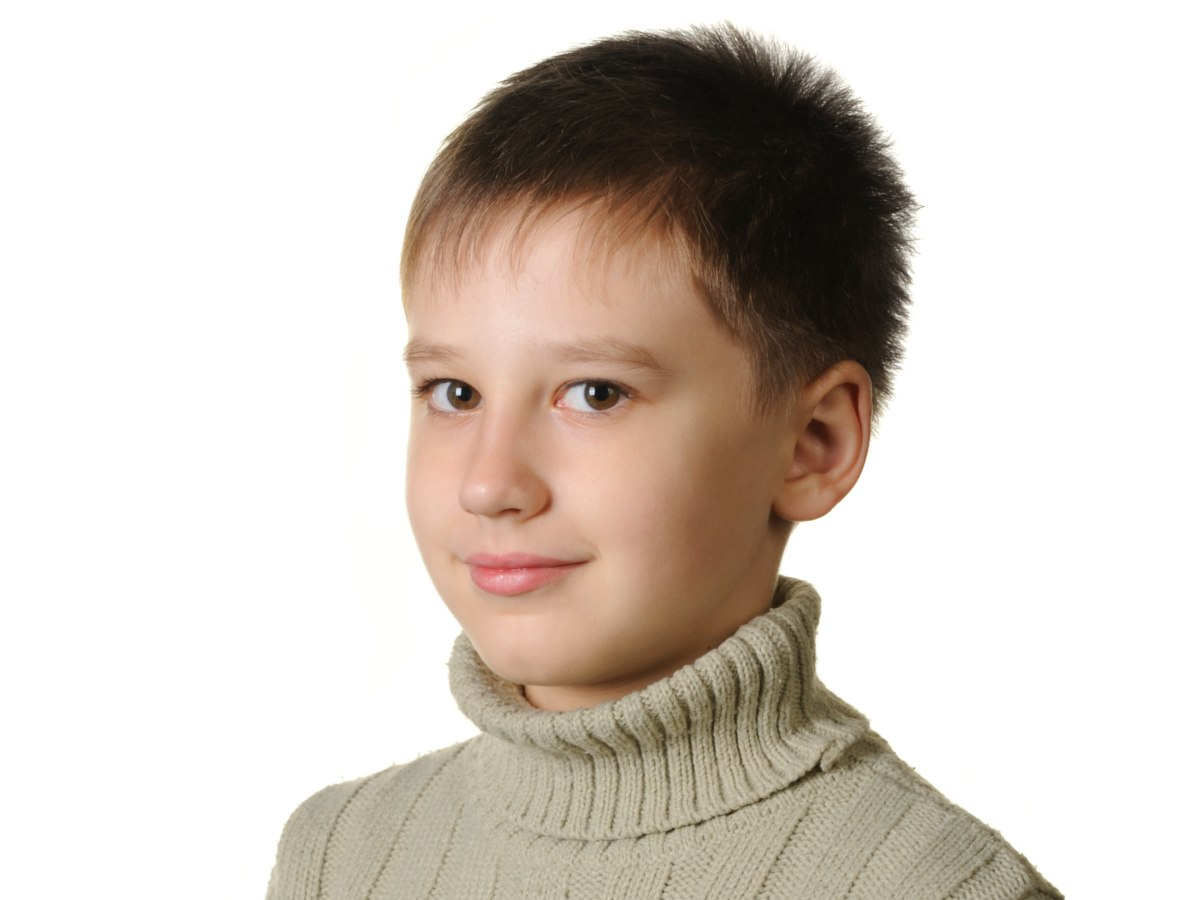 Very Short Haircut With Hair That Stands Up For Boys