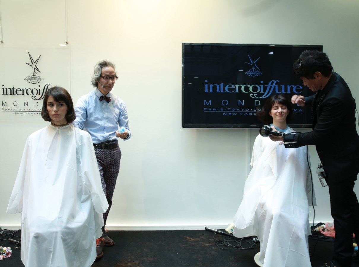 Long Hair To Bob Makeovers For Intercoiffure Japan