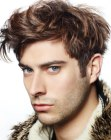 untamed look for men