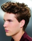lifted top hair for men