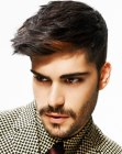 mens haircut with wow factor