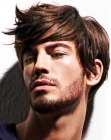 modern mens hair styling
