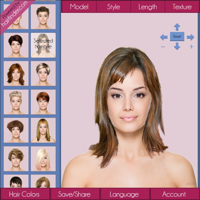 Free virtual hairstyles app | Virtual hairstyler