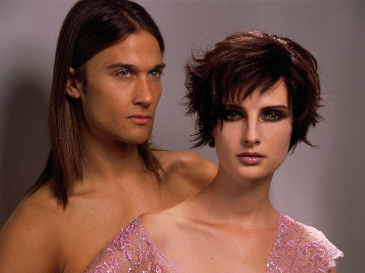 Longer Pixie Cut With Razor Cut Layering Mahogany Hair Color