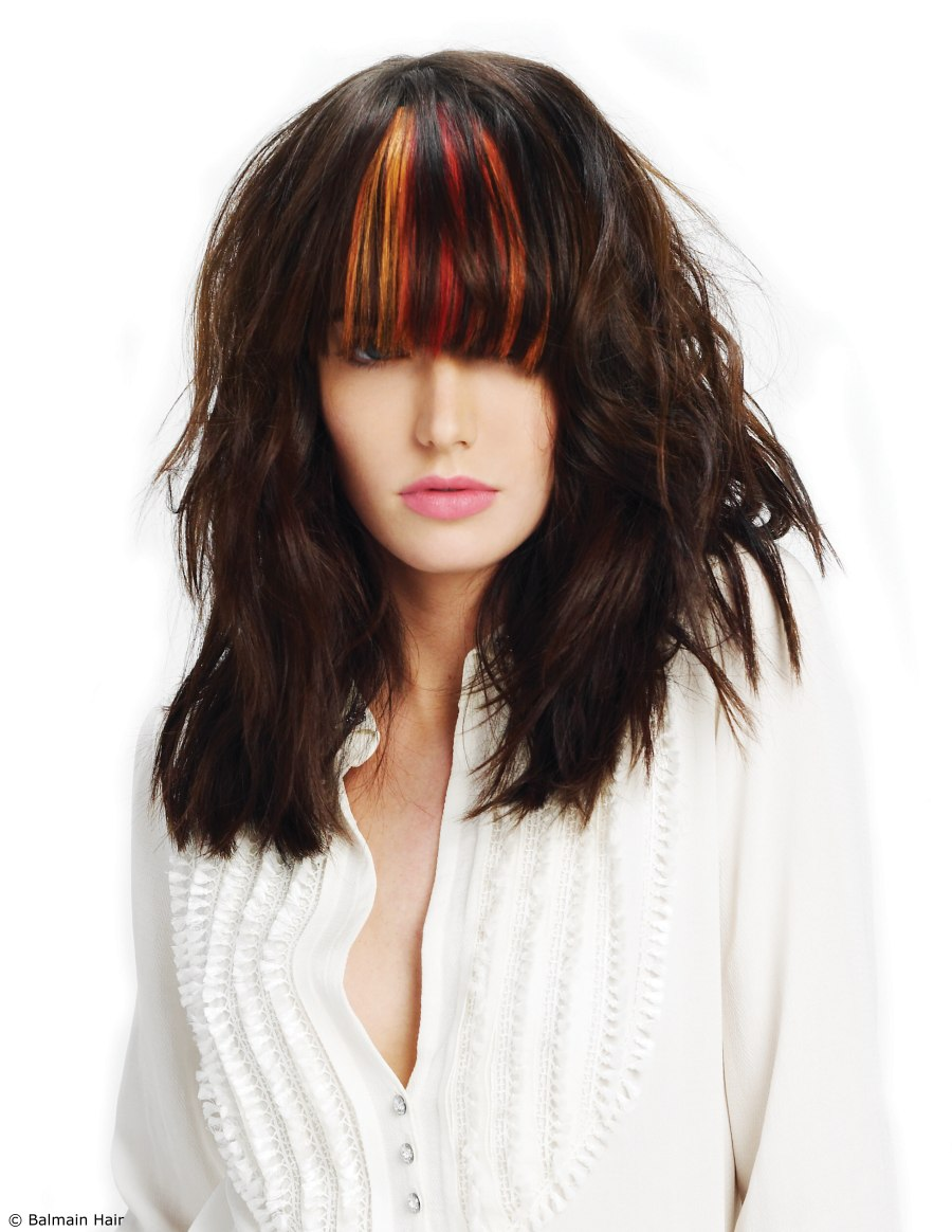 Clip In Bangs Attachment Hair Extensions