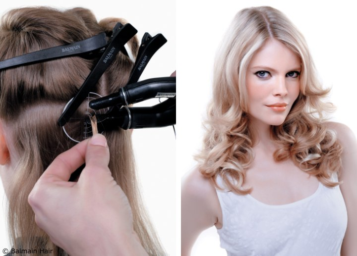 Hair Extensions Application Fill In Extensions
