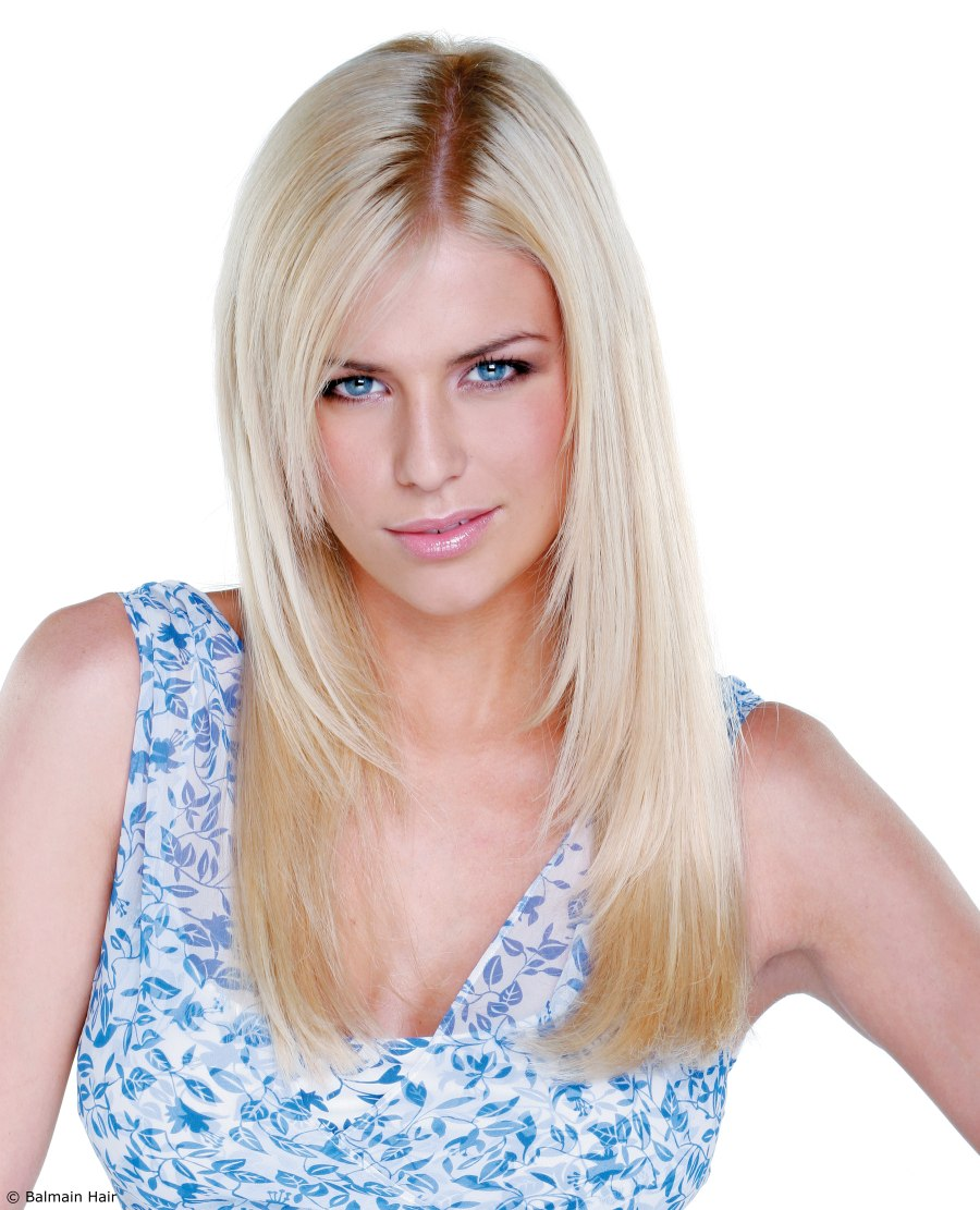 Fantastic Hair Extensions For Long Sun Kissed Hair With Razor Cut Lengths Hairstyles For Women Draintrainus