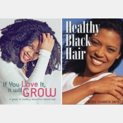 Books about black or African hair