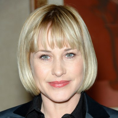 Patricia Arquette with short hair