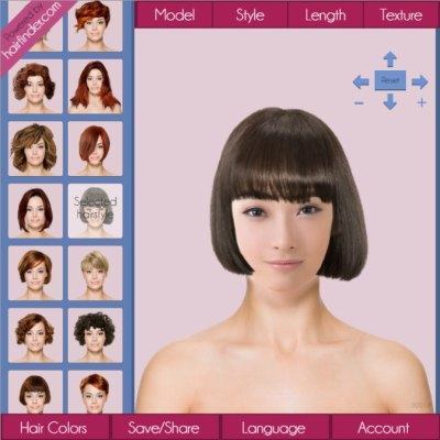 Try on Asian hairstyles