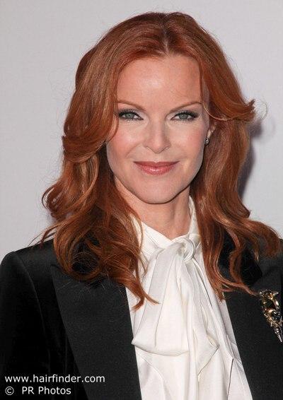 Ginger hair mature