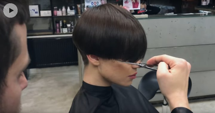 How To Cut An Elegant Short Women S Haircut Video